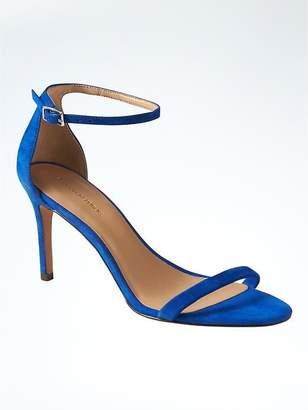Bare High Heel Sandal $118 thestylecure.com