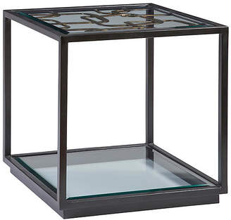 Artistica Moxie Side Table - Antiqued Black