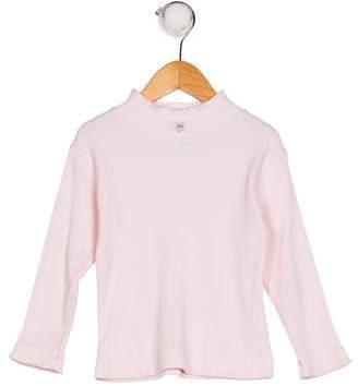 Lili Gaufrette Girls' Long Sleeve Knit Top