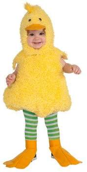 Rubie's Costume Co Costume Cuddly Jungle Quackie Duck Romper Costume