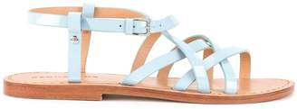 DSQUARED2 criss cross strap sandals