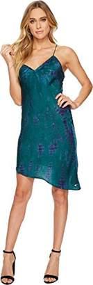 Volcom Junior's Womens' Georgia May Jagger Tie Dyed Slip Dress
