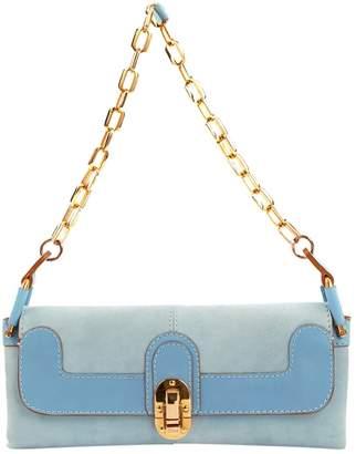 Chloé Blue Suede Handbag