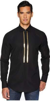 DSQUARED2 Stretch Poplin Evening Shirt Men's Clothing