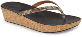 FitFlop Linny Wedge Flip Flop