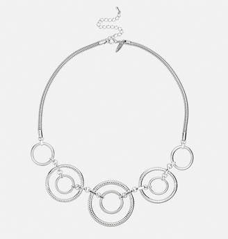 Avenue Concentric Ring Necklace