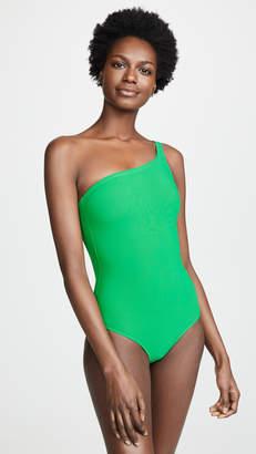 Isabel Marant Sage One Shoulder One Piece Swimsuit
