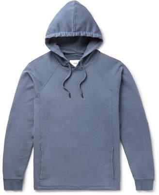 Folk Rivet Loopback Cotton-Jersey Hoodie