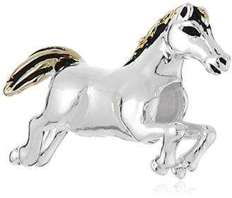 CHARMED BEADS Sterling Horse Bead Charm