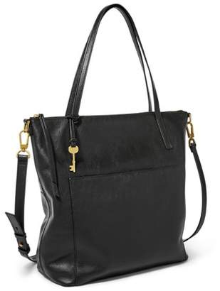 Fossil Evelyn Large Tote Black