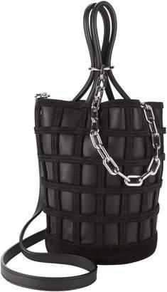 Alexander Wang Roxy Cage Bucket Black Bag
