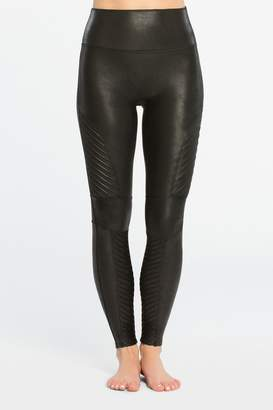 Spanx Womens Medium Control Black Mono Legging - Black