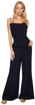 Tory Burch Swimwear Costa Jumpsuit Cover-Up Women's Jumpsuit & Rompers One Piece