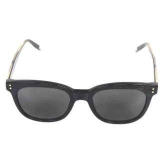 Victoria Beckham Green Plastic Sunglasses