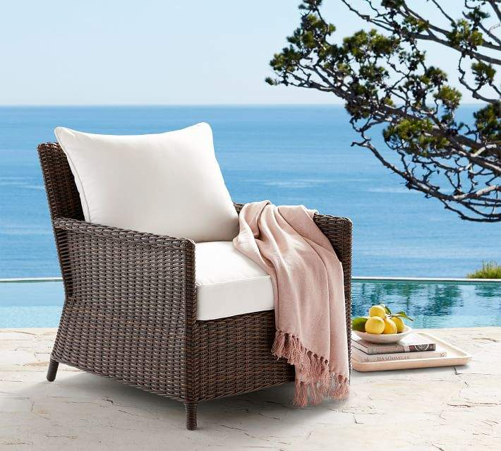 Patio Occasional Chair Cushion Slipcover