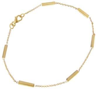 Jennifer Meyer Bar Bracelet - Yellow Gold