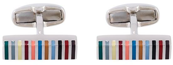 Paul Smith Paul Smith striped cufflinks