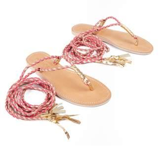 Cocobelle L SPACE X Gili Wrap Sandals