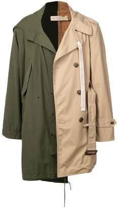 Puma Maison Yasuhiro military x trench coat