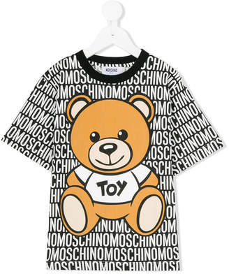 Moschino Kids teddy bear print T-shirt