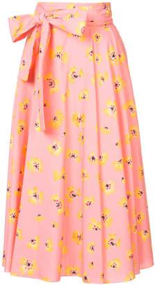 Novis floral print skirt