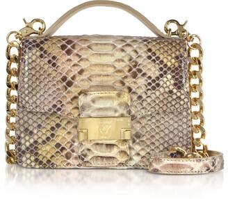 Ghibli Python Leather Crossbody Bag