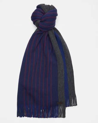 Ted Baker ELMM Striped raschel wool scarf