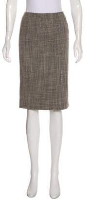 Marc Jacobs Wool Knee-Length Skirt