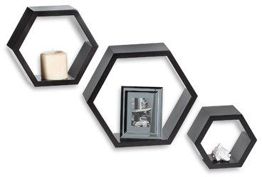 Hexagon Shelf (Set of 3)