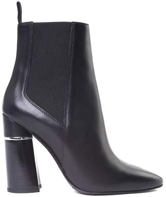 3.1 Phillip Lim Drum Smooth-leather Ankle Boots