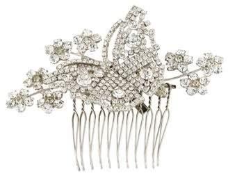 Jennifer Behr Silver-Tone Embellished Comb