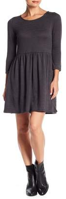 Collective Concepts Sweater Knit 3/4 Length Sleeve Dress