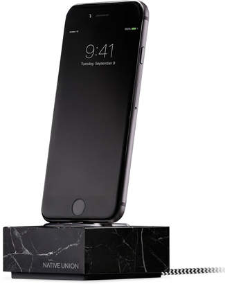 Native Union Dock iPhone with Cable Marble Black