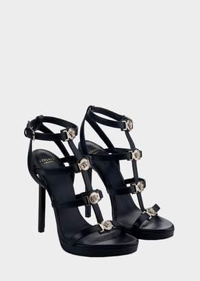Versace Signature Medusa Strap Sandal
