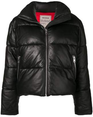 Zadig & Voltaire Zadig&Voltaire Fashion Show cropped puffer jacket