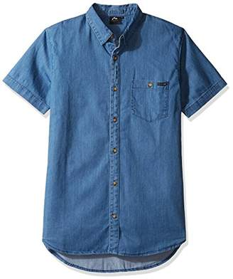 Rusty Men's Luster Short Sleeve Shirt