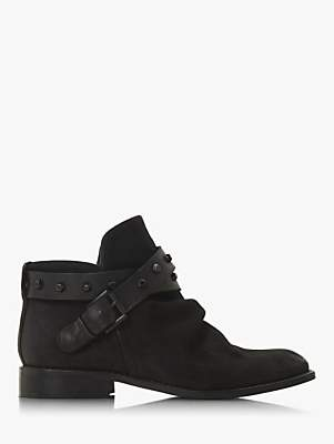 Bertie Portar Wrap Around Buckle Ankle Boots