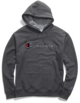 Champion Script Logo Powerblend Fleece Hoodie