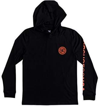 DC Men's RELLIN 3 Hooded TEE Shirt