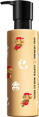 Super Mario Bros. Cleansing Oil Conditioner Super Mario Bros. collectible edition radiance softening perfector