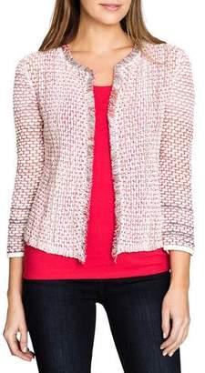 Nic+Zoe Plus Size Sightseer Tweed Cardigan