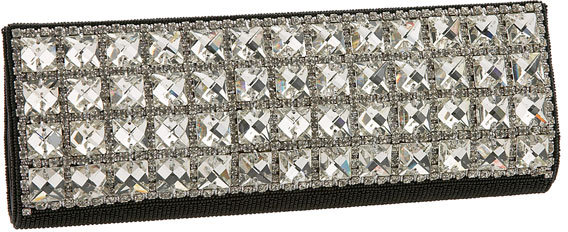 Nordstrom Square Crystal Clutch