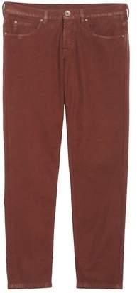 Eleventy Slim Fit Stretch Cotton Five Pocket Trousers
