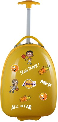 Youth Los Angeles Lakers Wheeled Pod Luggage