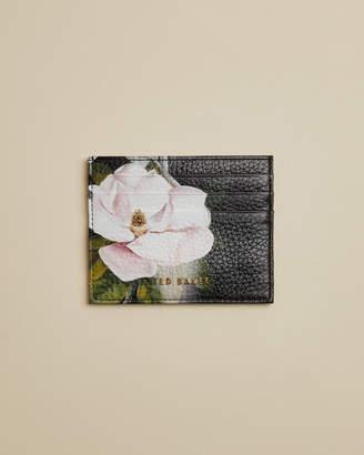 Ted Baker SLILKIO Opal print leather card holder