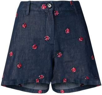 Love Moschino ladybird shorts