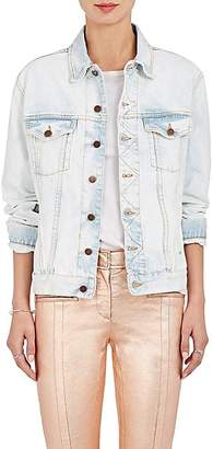Fiorucci Women's Nico Appliquéd Denim Jacket - White
