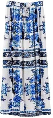 Goodnight Macaroon 'Tenley' Embroidered Boho Pants