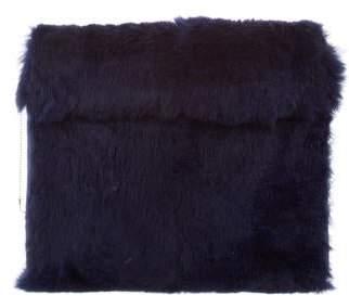 3.1 Phillip Lim Fur Fold-Over Clutch