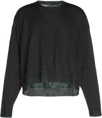 Lanvin Cropped Wrinkle Effect Knit